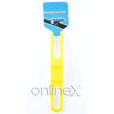 Soporte Linterna Silicona para Bicicleta Color Amarillo a937