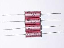2 x NOS 2.2uF 250V 10% ERO MKC 1860 Axial Caps Capacitors Tube Amplifier