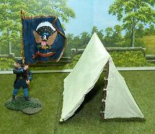 Diorama Zubehör Zelt Amerikanischer Bürgerkrieg, 1/32, Bivi Tent Civil War M25