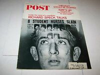 JULY 1 1967 SATURDAY EVENING POST magazine RICHARD SPECK