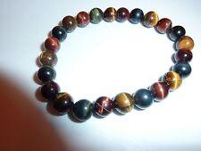60 perles rondes en oeil de tigre 6 mm-vtp023
