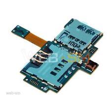 SAMSUNG GALAXY S i9000 i9001 FLAT FLEX LETTORE SIM CARD SCHEDA MICRO SD