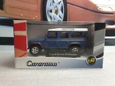 CARARAMA - LAND ROVER DERFENDER - BLUE PAINT - 1/43 SCALE MODEL CAR 250ND