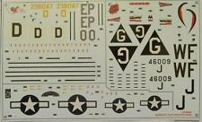Boeing B-17G Flying Fortress 1:72 Scale Decal Sheet Airfix A08005