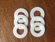6 Shimano Quick Drag Washers Teflon PTFE Ultegra 14000 XTD XTC XTB Technium MGS