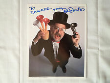 Dr Demento *Autographed Photo* Radio Show Fan Club Signed To Edward/Ed Horn Hat