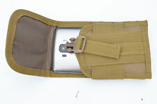 Molle Phone Case Carrier Pouch Add-on for Utility Bag Back pack (Tan)