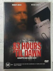 83 Hours Till Dawn DVD TRUE STORY THRILLER - Rare OOP Survival Peter Strauss
