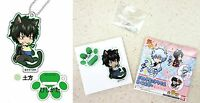 Gintama Cat Series Stand Mini Acrylic Key Chain Toshiro Hijikata Bandai Licensed