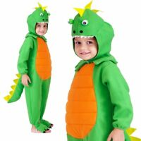 Child Dinomite Dinosaur Costume Kids Fancy Dress Halloween Book Week Outfit 4-9y