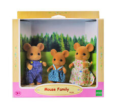 Sylvanian Families Calico Critters Brown Mouse Family
