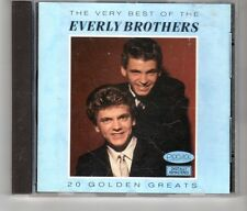 (HK624) The Very Best of The Everly Brothers - 1991 CD