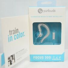 Yurbuds Focus 300 Sport Stereo Headset earphones For iPhone Samsung - Blue