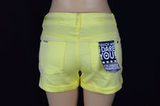 Celebrity Pink Jeans Womens 13 Pastel Yellow NEW Summer Shorts Rolled Cuff