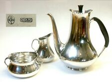 Kaffee Kern,Service,Cohr,SILBER 830,H.Bunde,1955,danish mid century,Coffee Set