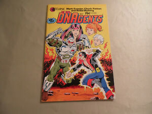 The DNAgents #4 (Eclipse 1985) Free Domestic Shipping
