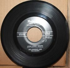 LEE ANDREWS & HEARTS *Long Lonely Nights* THE CLOCK Doo Wop 45 on MAIN LINE 102