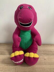 Vintage Barney the Dinosaur Interactive Talking / Singing Soft Plush Toy VGC