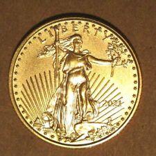 American Gold Eagle 1/10 Ounce 2021 Brilliant Uncirculated.