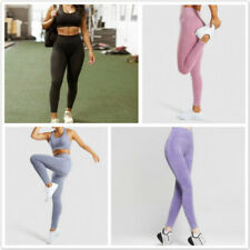 Women's High Waisted Seamless Yoga Fitness Leggings Sports Gym Trousers RF