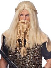 Viking Wig and Beard - Adult Set