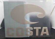 Costa del  Mar Die Cut Vinyl Sticker COSTA Decal Vinyl Stickers Eye wear car
