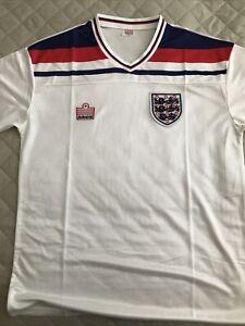 1982 Home England Shirt Jersey World Cup Admiral XXL