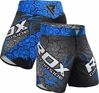 RDX Fight Shorts MMA Kick Boxing UFC Cage Fighting Training Muay Thai Gym Wear