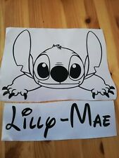 personalised Lilo and stitch Disney Inspired wall art Sticker vinyl Decal
