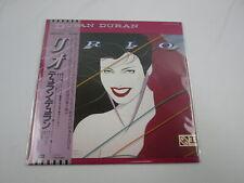 DURAN DURAN RIO EMS-91037 with OBI Japan VINYL LP