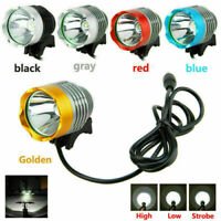 Super Bright 5000LM XML T6 LED Road Bike Front Headlight 3-Modes Cycling Torch