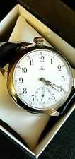 OMEGA MARRIAGE VINTAGE 1930 SWISS WATCH, 50MM, MANUAL WINDING, WHITE DIAL, BOX