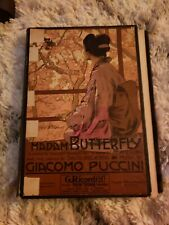 PUCCINI MADAM BUTTERFLY NETHANIEL FINSTON