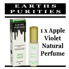 Earths Purities Perfume Natural Apple/Violet toxin & alcohol free cruelty free