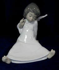 LLADRO ANGEL WONDERING BRAND NEW IN BOX #4962 RELIGION SITTING DOWN SAVE$$ F/SH