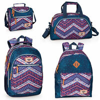 El Charro ETHNIC DENIM Girls School Bag Backpack Rucksack Travel Lunch Bag