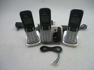 Panasonic Cordless Phone System Expandable Answering Machine KX-TG433SK
