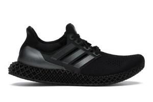 Mens Adidas Ultra 4D Triple Black Carbon FY4286