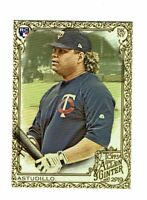 2019 Topps Allen & Ginter Gold #262 Willians Astudillo RC Minnesota Twins
