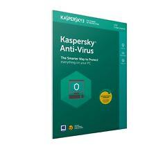 Kaspersky Antivirus Anti Virus 2021 - 3 PC/USER 1 Jahr | UK EU Retail Box