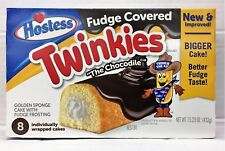 Hostess Chocodile Fudge Covered Twinkies Sponge Cakes 15.23 oz
