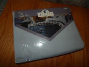 JUBILEE ,TWIN FITTED SHEET, BLUE SKY COLOR ,NICE,TAGS