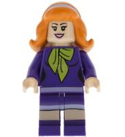 Lego Daphne Blake 75903 75904 Mystery Mansion Scooby Doo Minifigure