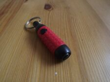 Havana Retractable Cigar Punch Cutter with Key Ring - Red