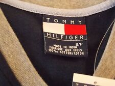 TOMMY HILFIGER LONG SLEEVE PULLOVER SHIRT SIZE S/P