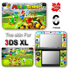 Super Mario Tennis Open DECAL SKIN VINYL STICKER COVER for Nintendo 3DS XL