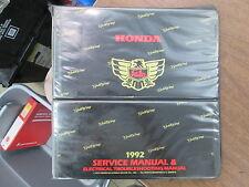 "Honda 1992 Goldwing GL1500 Service Manual 3"" Empty Binder"