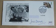 THE IMPORTANCE OF BEING EARNEST 1995 COVER SIGNED BY ACTRESS JUDI DENCH
