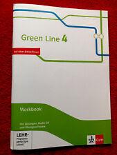 Green Line 4 Workbook mit Lösungen und Übungssoftware