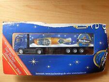 Modellino autocarro per birra Rimorchio trasporto MAN TUCHER CHRISTKINDLESMARKT